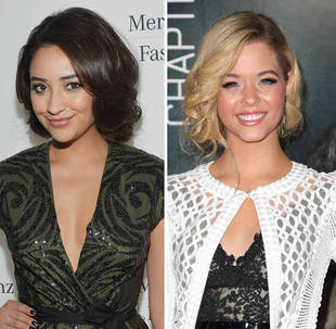 Pretty Little Liars' Shay Mitchell vs. Sasha Pieterse: Faux-Bob Face-Off! (PHOTO)