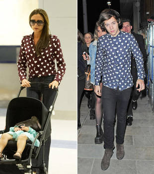Victoria Beckham Wears Same Shirt as Harry Styles, But Who Wore It Best?