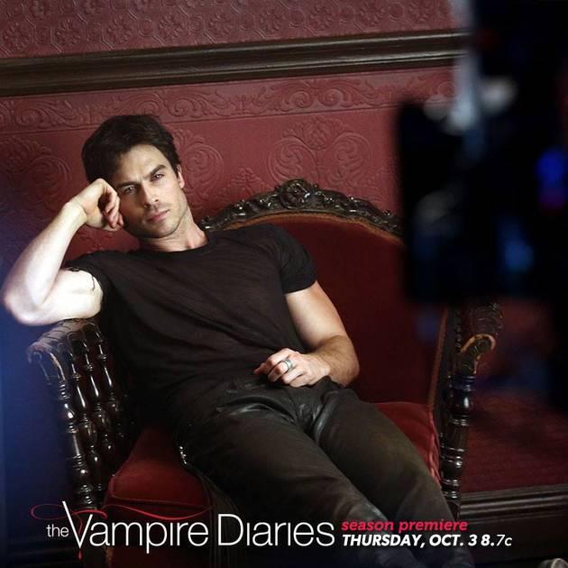 Vampire Diaries Season 5 Spoilers: Is Damon Still Badass?