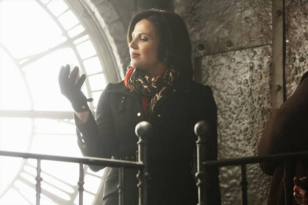 Once Upon a Time Season 3: Regina Is With [SPOILER] in Episode 9! (PHOTO)