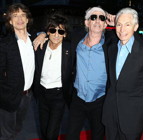 Mick Jagger, 70, to Be a Great-Grandfather! Report
