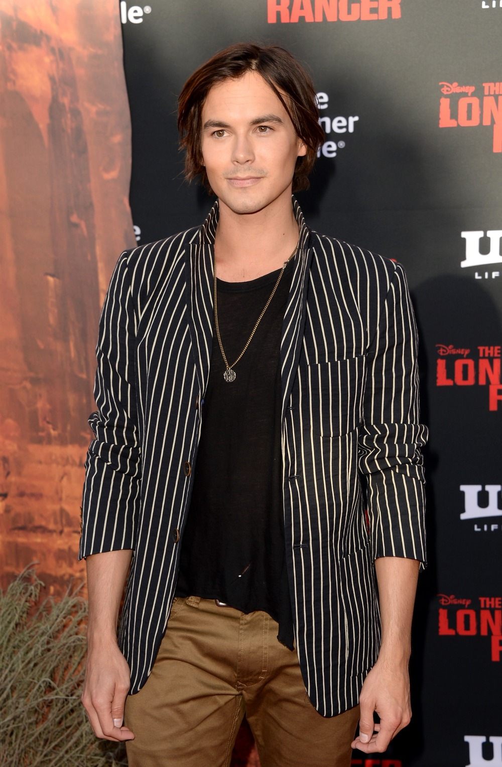 Pretty Little Liars' Tyler Blackburn Is a Twisted Blond Cowboy in Cutest Throwback Pic Ever