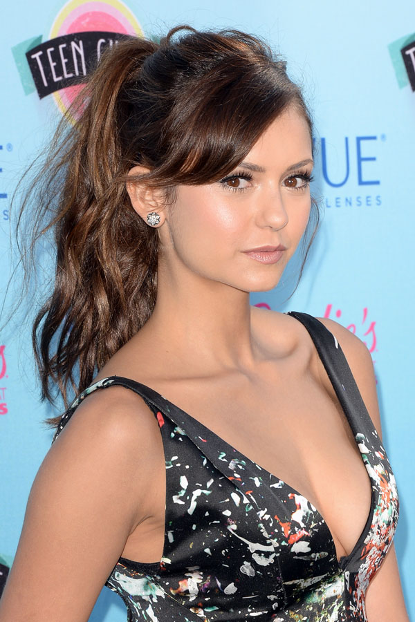 Nina Dobrev Gets Hit By a Car … Sorta (VIDEO)