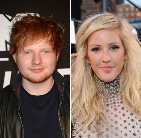 Ed Sheeran, Ellie Goulding Hold Hands at MTV VMAs — New Couple Alert? (UPDATE)