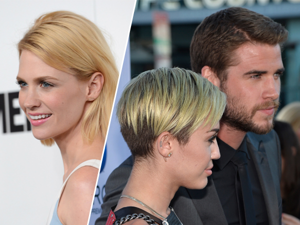 Liam Hemsworth Sexting January Jones Behind Miley Cyrus's Back? His Rep Says No