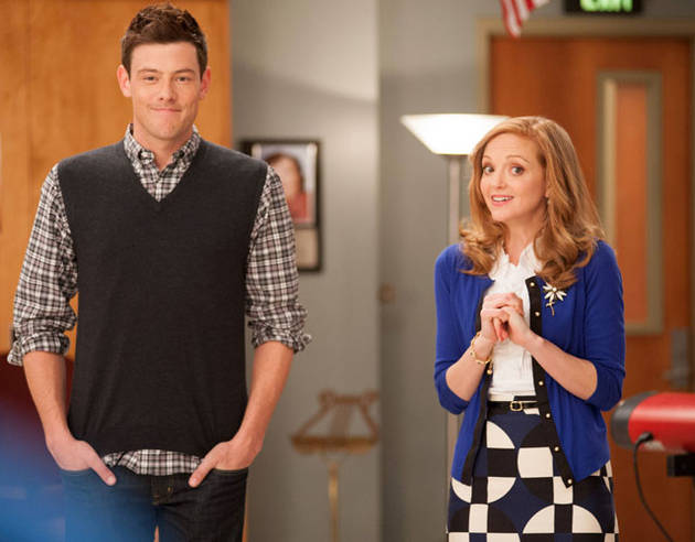 "Synopsis of Glee's Cory Monteith Tribute: Season 5, Episode 3: ""The Quarterback"""