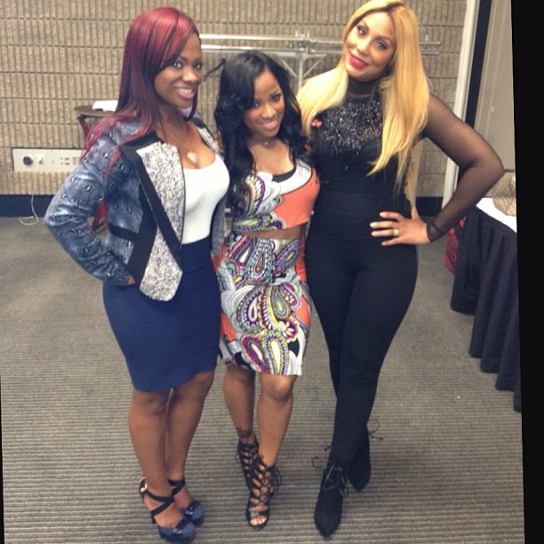 Kandi Burruss Supports Tamar Braxton, Hangs With Love & Hip Hop Atlanta Cast (PHOTOS)