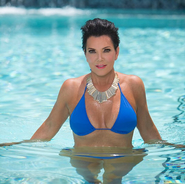 Kris Jenner Shows Major Cleavage, Bids Farewell to Summer in Sexy Selfie (PHOTO)