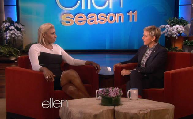 NeNe Leakes Shows Off Her 26-Carat Ring on The Ellen DeGeneres Show (VIDEO)