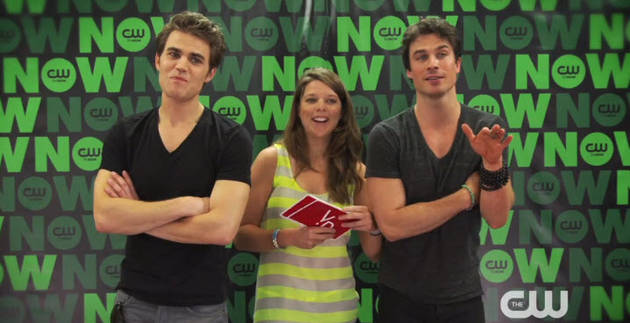 Vampire Diaries Stars Ian Somerhalder and Paul Wesley Answer Crazy Fan Questions (VIDEO)