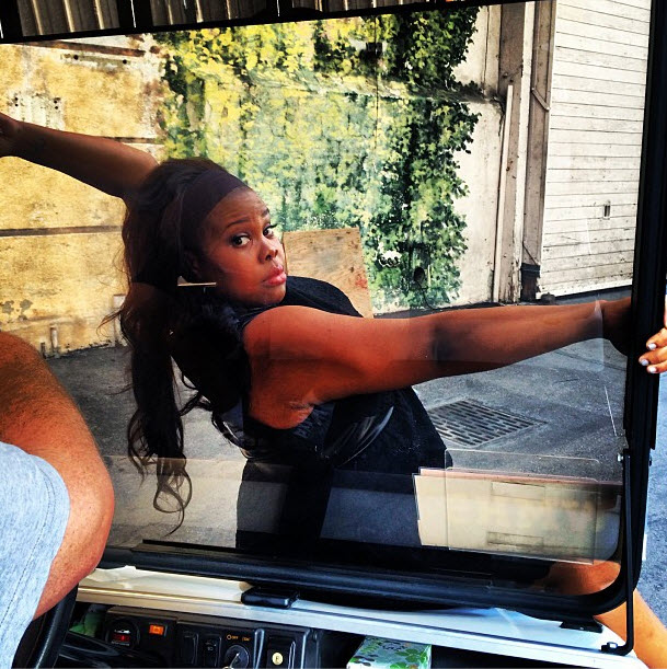 Amber Riley Working on Glee and Dancing With the Stars at the Same Time! (PHOTOS)