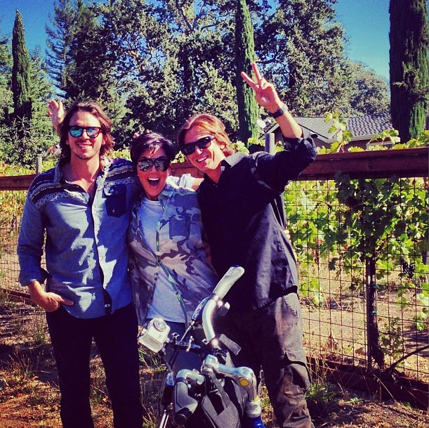 Kris Jenner Hangs Out With Former Bachelor Star Ben Flajnik in Wine Country (PHOTO)