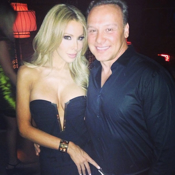 Lisa Hochstein Shows Off Major Cleavage in Little Black Dress (PHOTO)