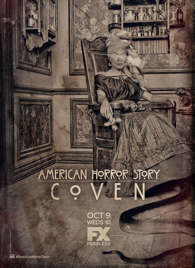 """American Horror Story: Coven — """"Laveau"""" and """"Voodoo"""" Sneak Peeks Revealed! (VIDEOS)"""