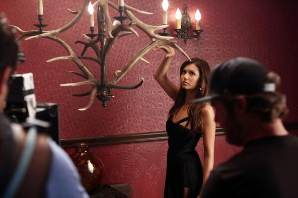 "Vampire Diaries Season 5: Nina Dobrev Hopes Damon Salvatore ""Doesn't F— it Up"""