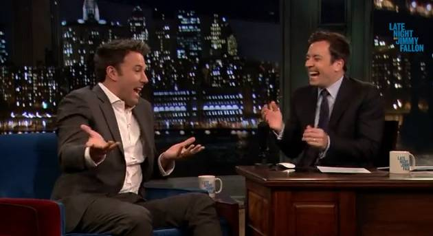 Ben Affleck on Jimmy Fallon: 'My Son Runs Into Walls' (VIDEO)