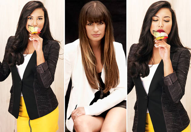 Naya Rivera: Lea Michele's Been Unbelievably Strong After Cory Monteith's Death