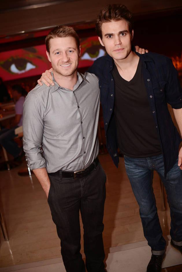 Vampire Diaries' Paul Wesley Celebrates OC Star Ben McKenzie's Birthday in Las Vegas! (PHOTO)