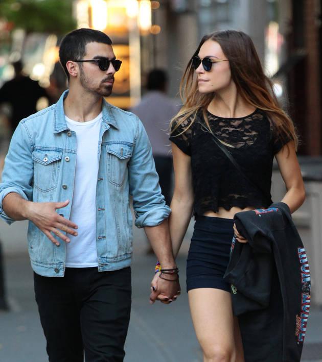 Joe Jonas's Girlfriend Blanda Eggenschwiler Shows Off Baby Bump