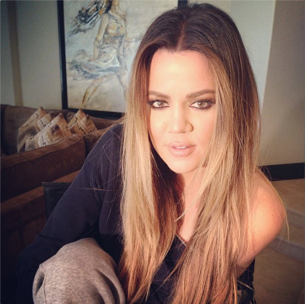 "Khloe Kardashian Calls Someone ""My Smile, My Heart, My Life"" — And It's NOT Lamar Odom! (PHOTO)"