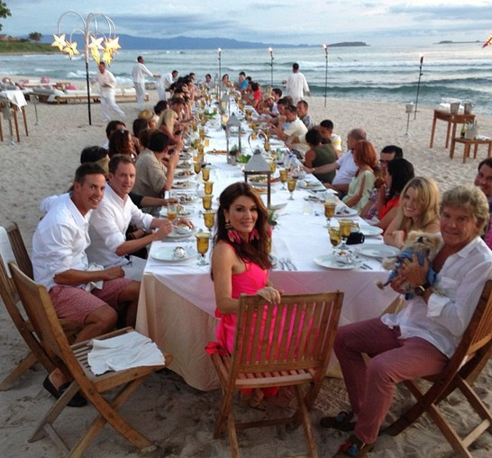 Lisa Vanderpump, Ken Celebrate 31st Anniversary in Mexico! With Whom?