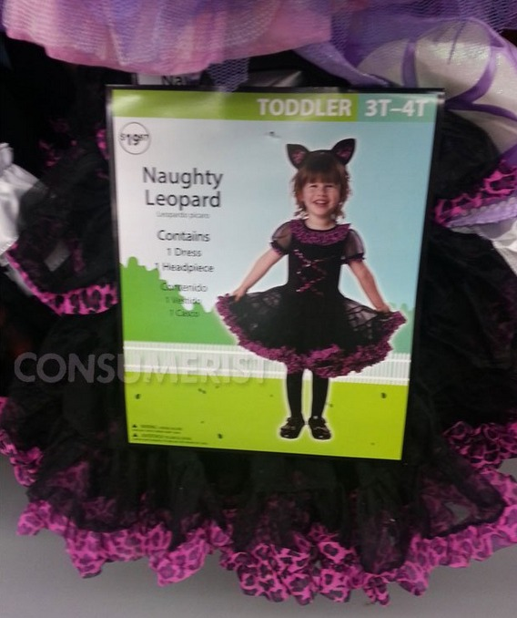 Walmart Wants Your Daughter to Be a 'Naughty Leopard' For Halloween