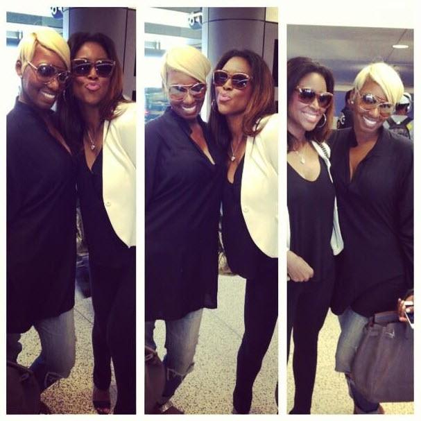 Kenya Moore Attends I Dream of NeNe Premiere: Is She Still Fighting With NeNe Leakes?