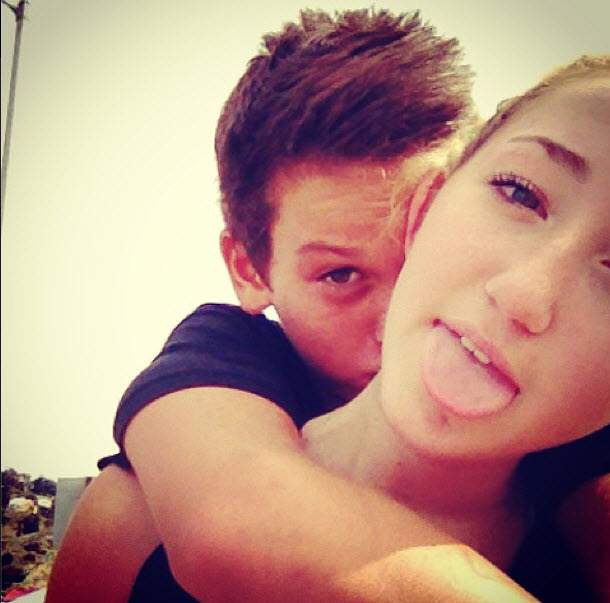 Miley Cyrus' Sister Is Dating Which Famous Actor's Son?