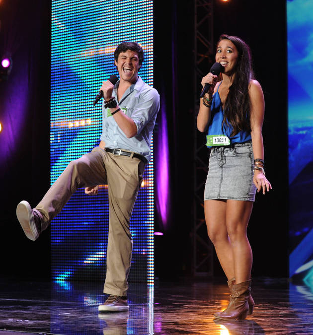 "X Factor 2013: Watch Alex & Sierra Perform ""Toxic"" by Britney Spears (VIDEO)"