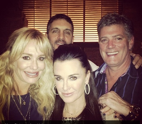 """Kyle Richards Misses """"Sisterhood"""" With """"Incredible Friend"""" Taylor Armstrong"""
