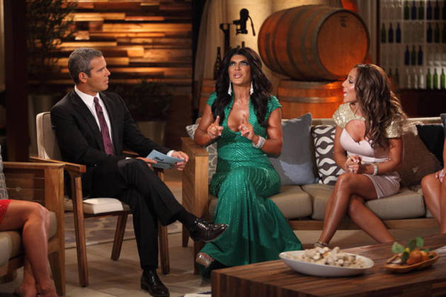 RHoNJ Season 5 Reunion Taping Today, Teresa Giudice Brings Her Lawyer! — Exclusive