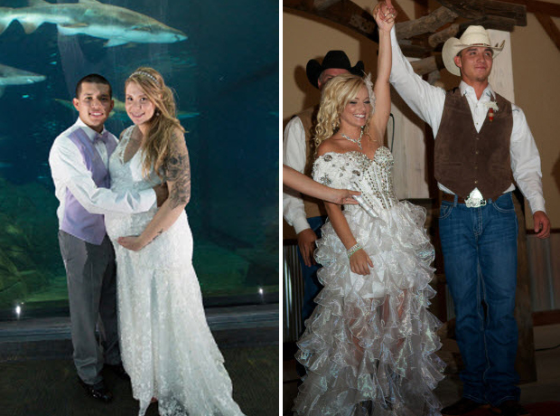 Which Teen Mom Wedding Theme Do You Prefer — Underwater or Cowboy? (PHOTOS)