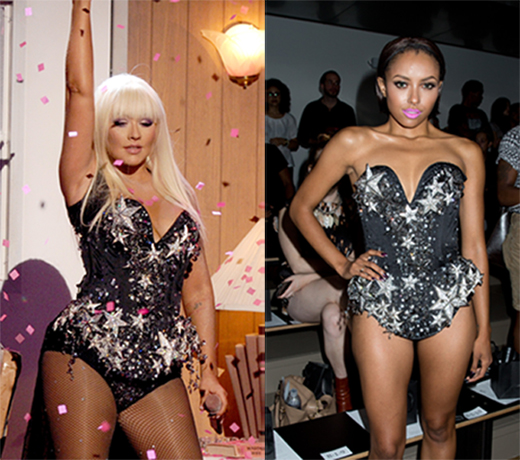 Christina Aguilera vs. Kat Graham: Who Wore It Best? (PHOTOS)