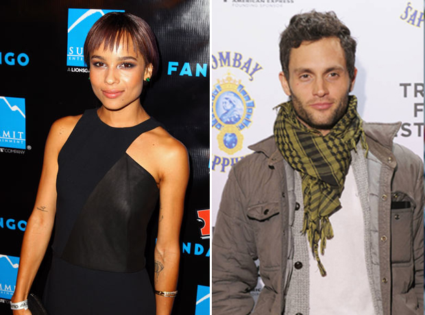 Zoë Kravitz and Penn Badgley's PDA in Rome! Are They Back Together?