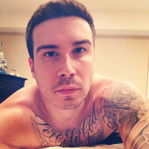 Vinny Guadagnino Is Very Proud of His New Shower Head (VIDEO)