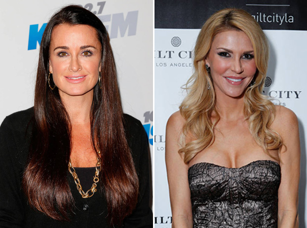 "Kyle Richards ""Getting Along Better"" With Brandi Glanville"