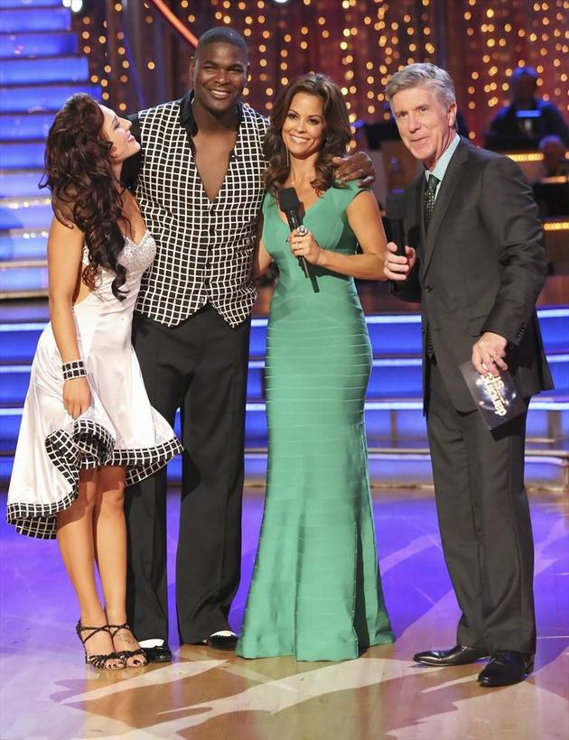 Dancing With the Stars 2013 Elimination: Keyshawn Johnson Eliminated in Week 2