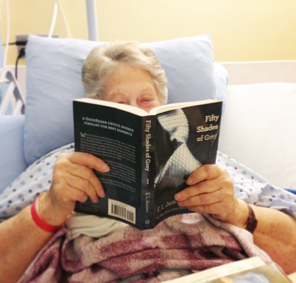 Which Bachelorette Caught Her Granny Reading Fifty Shades of Grey in the Hospital?