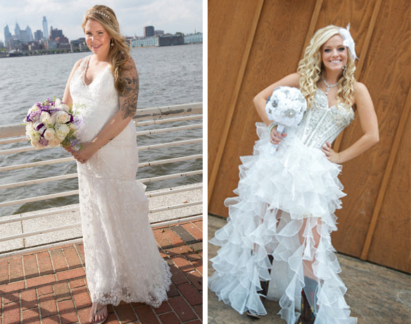 Teen Mom Wedding Dress Face-Off — Kailyn Lowry or Mackenzie Douthit? (PHOTOS)