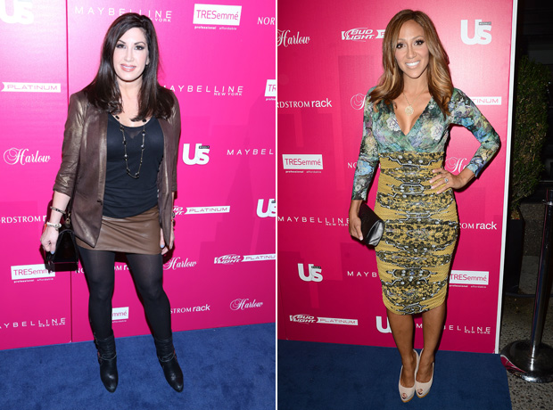 Melissa Gorga vs. Jacqueline Laurita: Who Had the Best Fashion Week Party Attire? (PHOTOS)