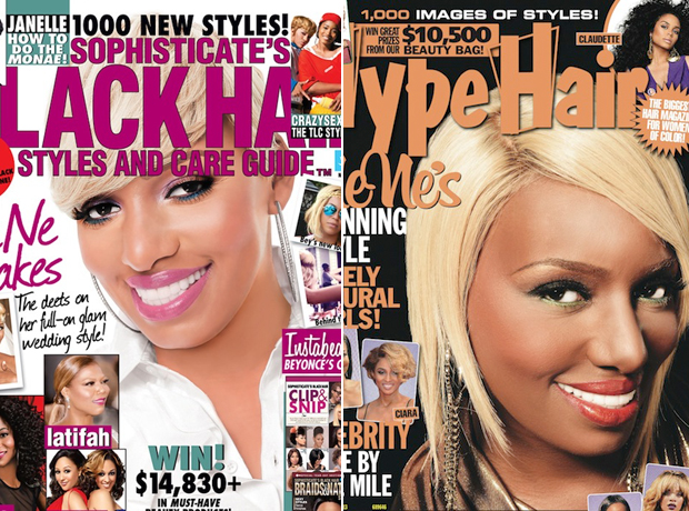 NeNe Leakes Lands Two Hair Magazine Covers (PHOTOS)
