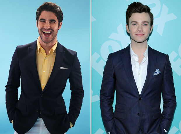 Who Are Darren Criss and Chris Colfer Dating?