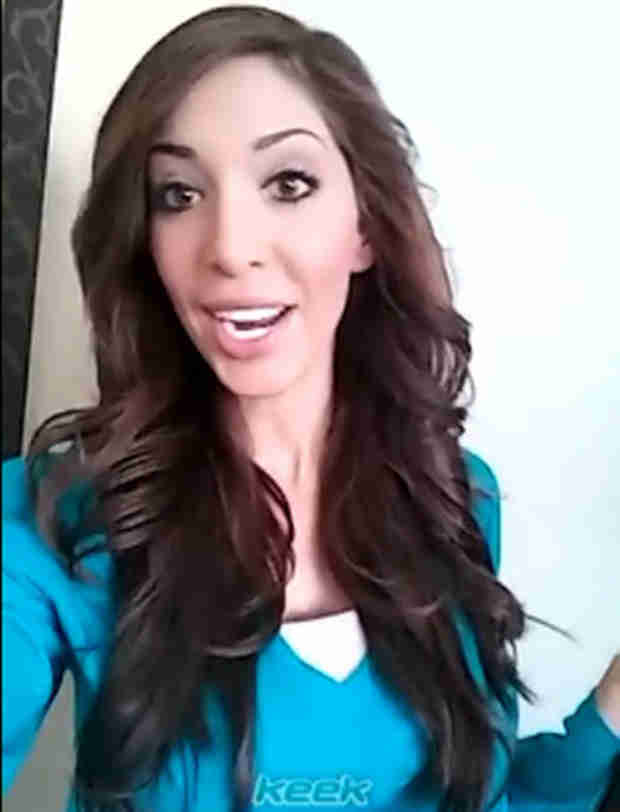 "Farrah Abraham Shows Off ""F–ing Amazing"" Hair Extensions — Love 'Em or Leave 'Em? (VIDEO)"