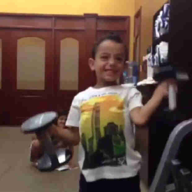 Melissa Gorga's Son, Gino, Works Out With Dad — Adorable, or Too Young?
