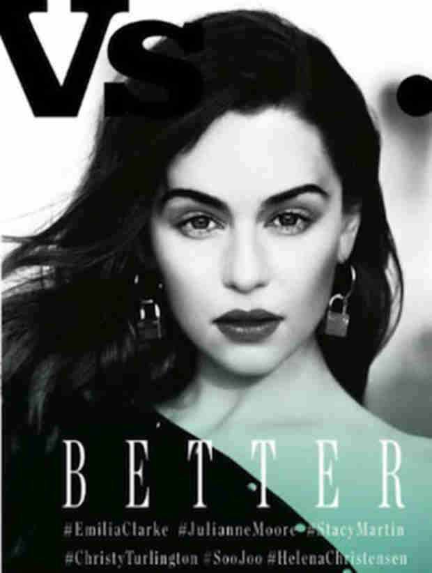 Game of Thrones' Emilia Clarke Stuns on the Cover of Vs. Magazine