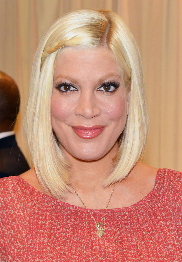 Tori Spelling Adopts New Puppy Amid Rumors Husband Cheated