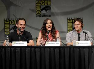 The Walking Dead and Andrew Lincoln's Rick Grimes Win PCAs! Norman Reedus Thanks Fans (VIDEO)