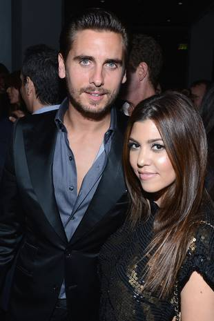 Scott Disick's Dad's Funeral: Kourtney Kardashian, Kris Jenner Attend