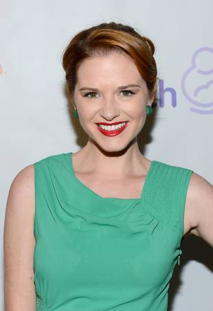 Grey's Anatomy's Sarah Drew Is Friends With Glee's Harry Shum Jr.