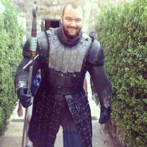 Game of Thrones Season 4 Spoilers: First Look at the Mountain!